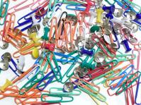tacks and clips