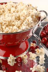 Cranberry popcorn