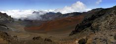 Panorama of The Haleakala Crater