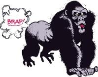 Gorillla Farting