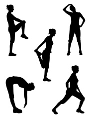 Healthy silhouette series