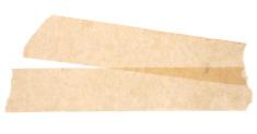 Masking Tape Label