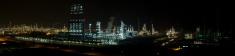 Petrochemical Plant Night Scene