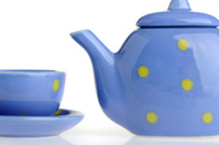 Color cup and teakettle