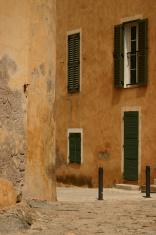 Calvi town in Corsica