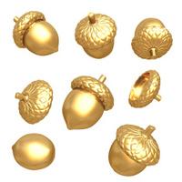 Gilded Acorns