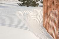 Snow Fence Shadow