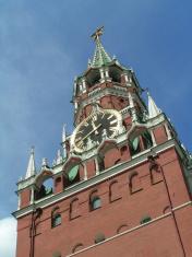 Spasskaya (Savior) Tower, Moscow Kremlin, Russia