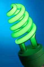 Green energy-saving lightbulb