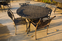 Country Club Iron Table and Chairs