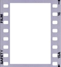 35mm frame - B&W negative
