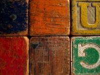 Old Wooden Blocks