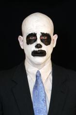 Skeleton man in Suit
