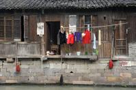 China,Shanghai water village Wuzhen