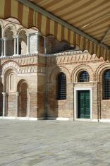 Murano Church and Awning, Venice, Italy.