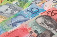 Australian money Background