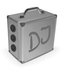 DJ's aluminium case