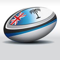 Rugby ball-Fiji