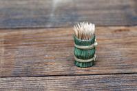 Toothpicks on a table