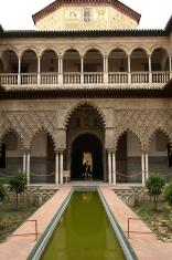 Alcazar in Sevilla, Spain