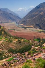 Village of Coya, Sacred Valley, Cusco, Peru
