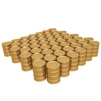 Gilded Oil Barrels