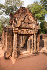 Temple Banteay Srei at Angkor