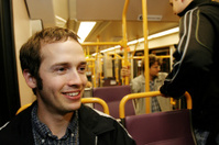 Happy Young Man on MAX