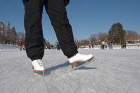Ice skating on Ottawa's Rideau Canal