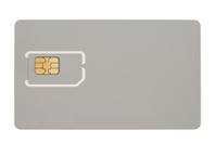 Microchip on bank card