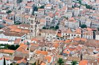 Orange roofs in Hvar, Croatia