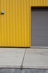 Corrugated Metal Industrial Warehouse Wall and Door XXXL