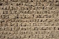 Old adobe wall in Dubai