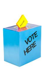 Ballot in EU ballot box