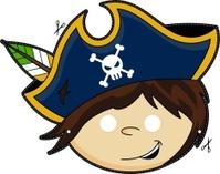 Kids Pirate Captain Mask