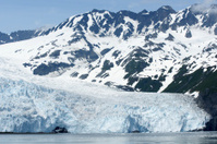 Aialik Glacier in Alaska.
