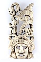 Mayan Ivory Mask 2