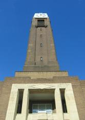 Art Deco clock tower #1