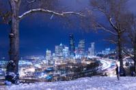 Seattle Skyline in Winter