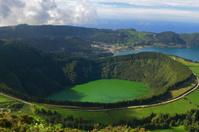 Santiago Lagoon at Sete Cidades, San Miguel, Azores