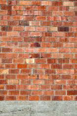 Warehouse brick wall