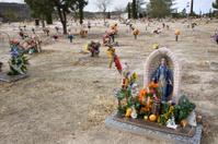 Grave in Desert Cemetery