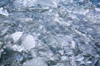 Broken ice background