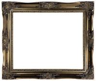 Ornate Antique Gold Frame - XXL