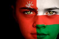 Oman flag boy