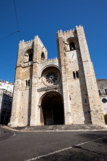 Se Cathedral in Lisbon Portugal