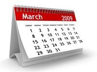 March 2009 - Calendar series