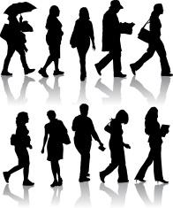 Female Pedestrians