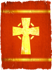 viking cross on royalty free vector Background