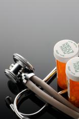 Stethoscope & Prescription Meds